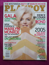 MARILYN MONROE PLAYBOY DEZEMBER 2005 COLLECTOR´S EDITION