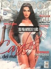 Playboy Venezuela, May 2012. Year 7, Number 5. Diosa Canales (Double cover)