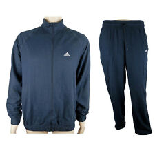 Adidas Ess TS Herren  Trainingsanzug Sport Jogging Anzug Blau Neu Gr.L