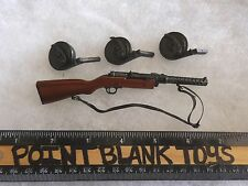 DID MP18 SUBMACHINE GUN WWI GERMAN GRENADIER LUTZ FEDDER 1/6 ACTION FIGURE TOYS