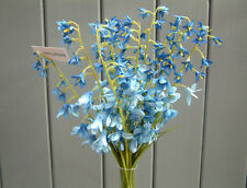 Artificial Bluebells - Bunch of 10 Silk Flowers - 37cm Tall