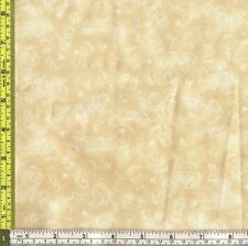 Neutral Small Toile Beatrix Potter Characters cotton material 1/4 yard 22.8 cm