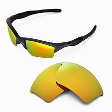 New Walleva Polarized 24K Gold Replacement Lenses For Oakley Half Jacket 2.0 XL