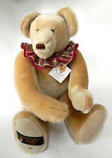 Canterbury Teddy Bear Gund Olivia 22 in signed numbered 1993 Rare 82 of 200