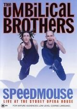 The Umbilical Brothers - Speedmouse (DVD, 2004)-REGION 4-Brand new- Free postage