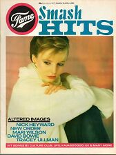 Clare Grogan on Smash Hits Magazine Cover 1983   Mari Wilson   Fame  David Bowie
