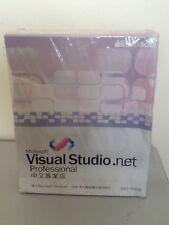 MICROSOFT VISUAL STUDIO. Net 2003 NUOVO CON SCATOLA commerciale