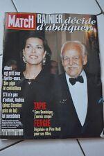 paris match n°2379 rainier caroline de monaco albert tapie 1994
