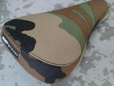 GT Fullerton TRIPOD BMX Saddle (lightweight and padded) Bike Seat CAMO (NEW)