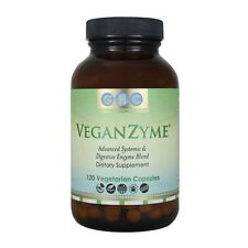 VeganZyme Natural Systemic & Digestive Enzymes Supplement - GMO Free VEGAN SAFE