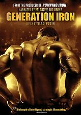 Generation Iron by Arnold Schwarzenegger (DVD) BRAND NEW