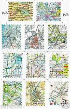 Fantasy Nail Art Decal Water Slide Transfer Map Stamp Style Stickers 11 in1 W6
