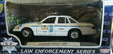 Motor Max 1:24 scale POLICE CAR OPP CANADIAN POLICE NEW!
