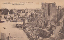 CPA GUERRE 14-18 WW1 REIMS 41 rue tronson-du-coudray