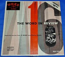 The WORD In Review Vol 2 (16 Sampler) Various Quartets/Choirs Mono Vinyl LP WORD