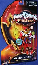 """Power Rangers Mystic Force Red Mystic Sound Ranger New 5"""" Factory Sealed 2006"""
