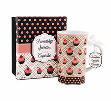 Cherry Cupcakes You & Me Mug by Jessie Steele 49029 Our Friendship is Sweeter ..