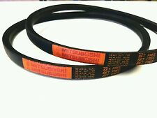 2 Genuine Mitsuboshi   PTO Belts For Kubota  G2160 Replaces K2110-25030
