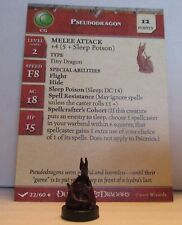 Pseudodragon 22/60 Dungeons & Dragons Miniatures D&D Minis Unhallowed