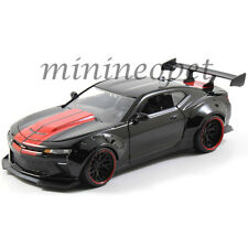 JADA 98137 BIGTIME 2016 CHEVY CAMARO WIDE BODY 1/24 with GT WING GLOSSY BLACK