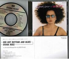 DIANA ROSS Red Hod Rhythm And Blues JAPAN CD CP32-5419 1A2 TO w/INSERT Free S&H