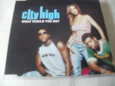 CITY HIGH - WHAT WOULD YOU DO? - R&B CD SINGLE