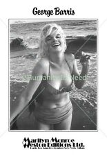 Marilyn Monroe Signed George Barris Poster (Feelin' The Surf)