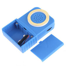 Wireless Mini 8 Multi Voice Changer Portable Microphone Disguiser For Phone Blue