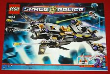 LEGO Bauplan Bauanleitung Instruction Manual Space Police 5984 Lunar Limo