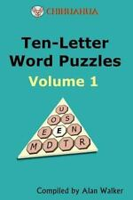 Chihuahua Ten-Letter Word Puzzles Vol. 1 by Alan Walker (2012, Paperback)