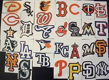 Complete 30 MLB Team Stickers Set Baseball