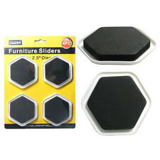 4 PCS FURNITURE SLIDERS GLIDERS EASY HEAVY LARGE APPLIANCE AD-16847