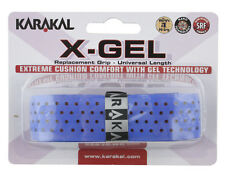 Karakal X-Gel Replacement Grip - Tennis - Blue Badminton - Squash Grips Gel