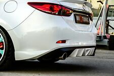 MV-Tuning Rear Fangs Lip Bumper Mazda 6 / Attenza GJ 2012-2017