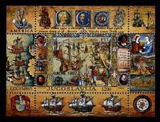 Christoph Kolumbus. Entdeckung Amerikas. Block. Jugoslawien 1992
