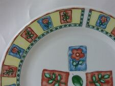 Farberware China Window Box Pattern Salad Plate 7-5/8""