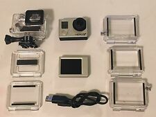 GoPro HERO3+ Plus Black Edition HD Waterproof Camera + LCD BACKPAC Retail $500