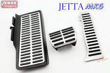 Set of 3 pcs Pedal Cover Fits Volkswagen Jetta MK6 New Beetle