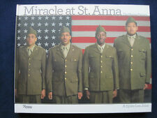 MIRACLE AT ST. ANNA - SIGNED by Director SPIKE LEE 1st Edition Film Tribute