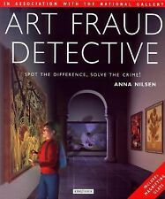 Art Fraud Detective Spot the Difference by Anna Nilsen w/Magnifying Glass HC/DJ