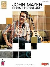 John Mayer Room For Squares Learn to Play Pop Rock Guitar TAB Music Book
