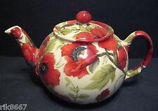 1 poterie croix Héron Coquelicot Chintz 3 anglais tasse pot de thé ou 2 tasses