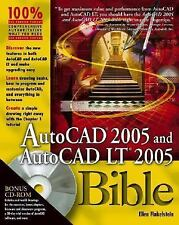 Bible Ser.: AutoCAD 2005 and AutoCAD LT 2005 186 by Ellen Finkelstein (2004,...