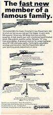 1971 Print Ad Crosman Powermatic 500 BB Gun Powermaster 760 Pumpmaster 1400 M1