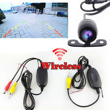 2.4G Wireless 2in1 Car Rear Forward View Back Up Side Front Parking CCD Camera