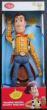 Disney Store  Toy Story 3 Talking Woody Toy Doll  New in Box 5 Different Phrases