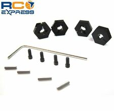Hot Racing Losi Mini 8ight Buggy Aluminum 12mm Wheel Hex Hubs OFE10W01