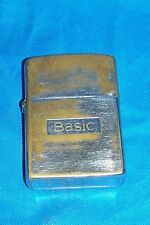 Zippo Basic Cigarette Lighter Ad Advertising Tobacco Promo Promotional Giveaway