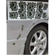 Bullet Hole Orifice Sticker Graphic Decal Shothole Car Auto Helmet Windows