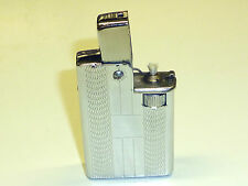 "COLIBRI ""FAMOUS"" SEMI-AUTOMATIC POCKET LIGHTER - FEUERZEUG - ENGLAND - VERY RARE"